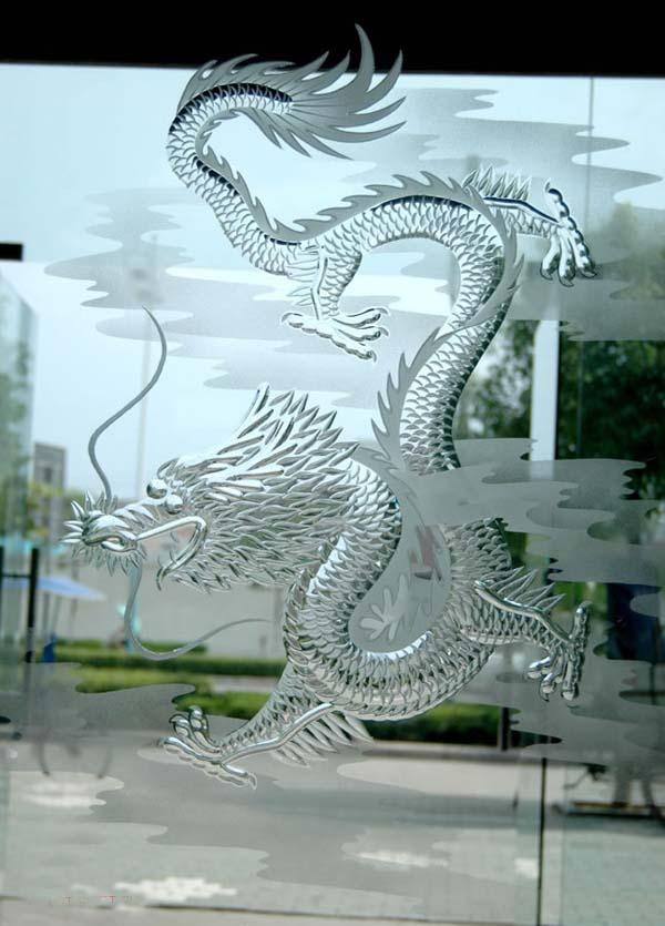 艺术玻璃雕刻