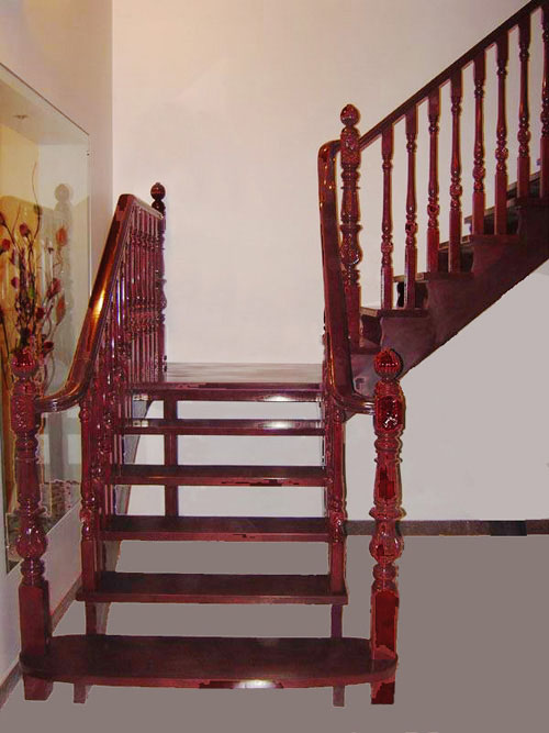 04楼梯与立柱图片